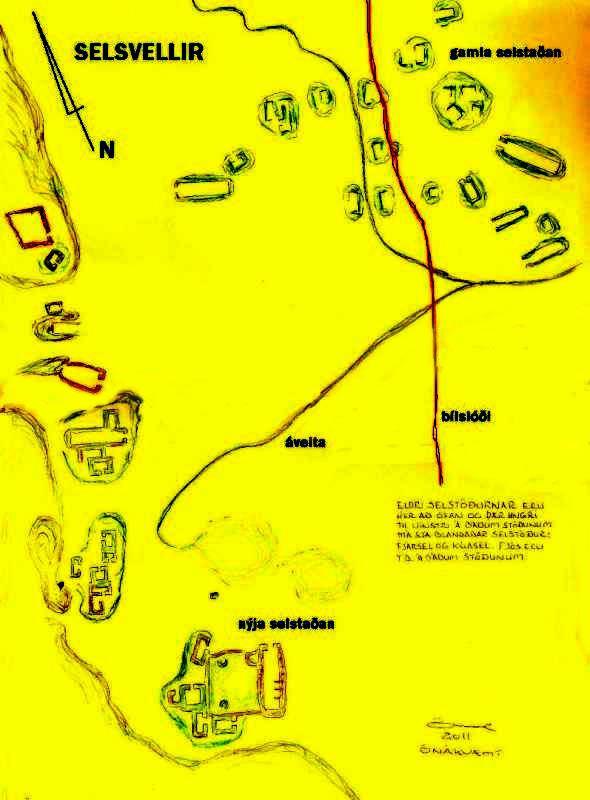 Selsvellir - uppdrattur-21