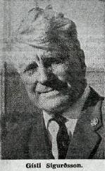 Gisli Sigurdsson 1967