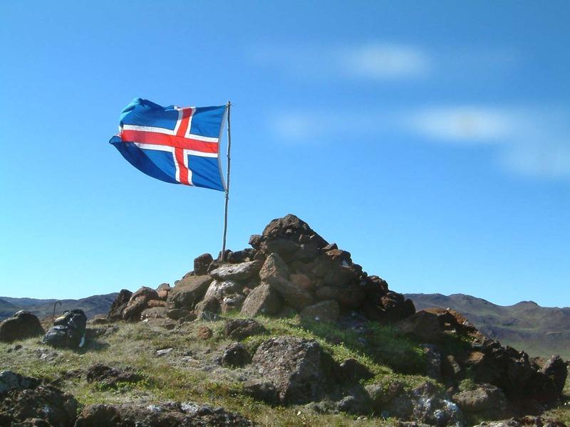 Eiríksvarða á Arnarfelli - heiðruð af FERLIR 2006