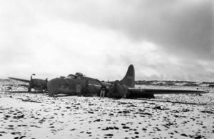 B-17 í Eldvarpahrauni