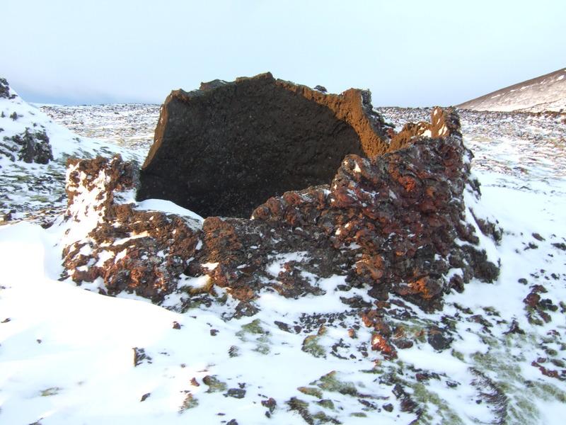 Sýnishorn af Þríhnúkagígnum