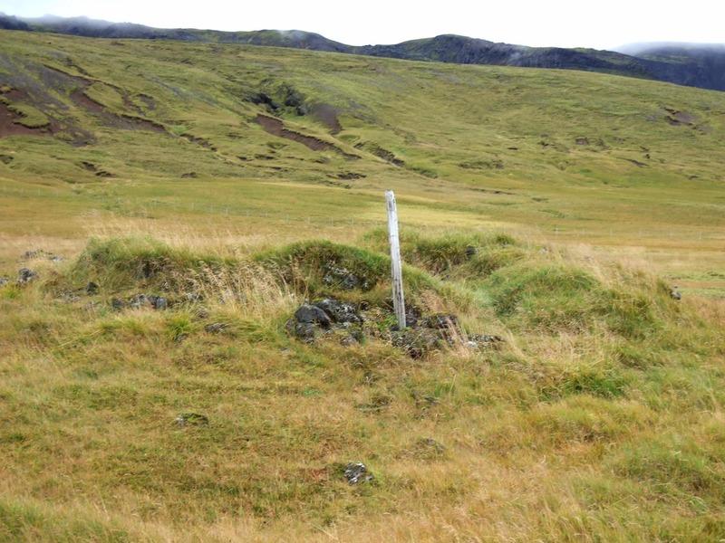 Sæluhúsið (tóft) við Draugatjörn