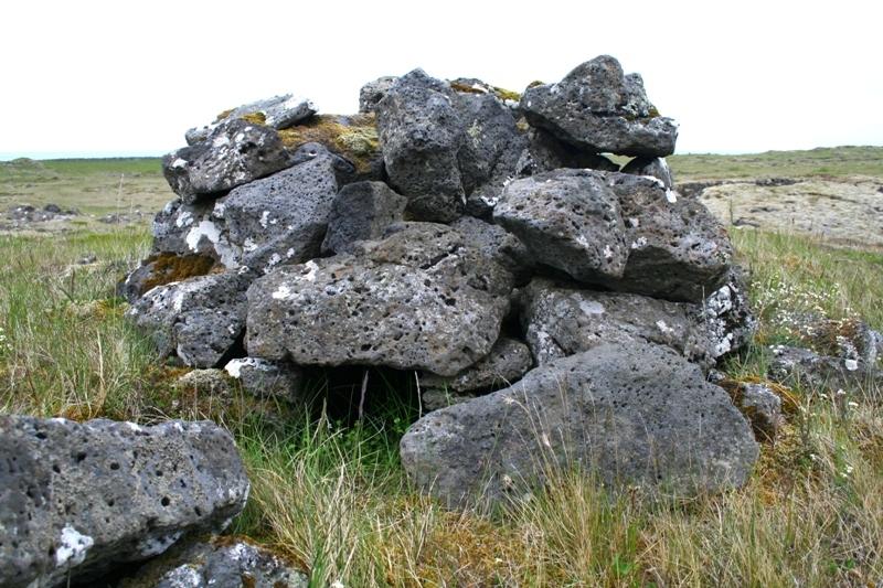 Refagildra ofan við Borgarkot