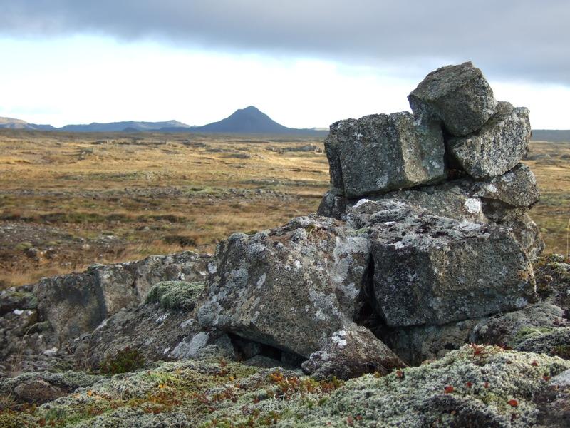 Varða við Breiðagerðisstíg
