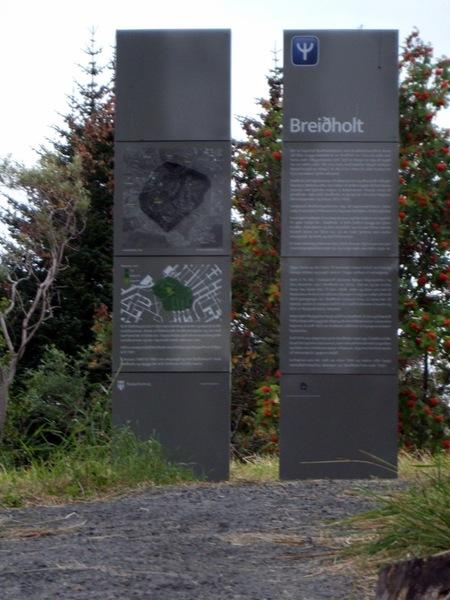 Breidholt - skilti