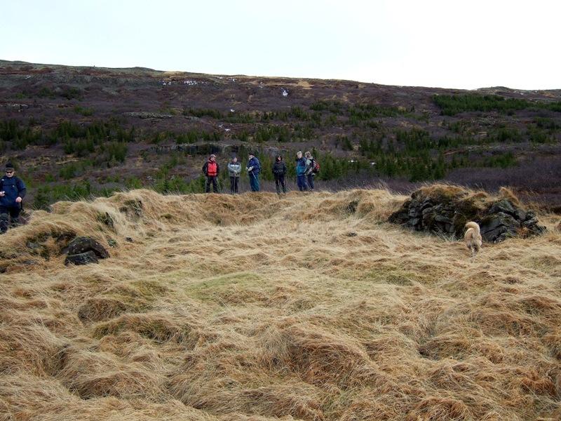 Fjárhús og heygarður í Brynjudal
