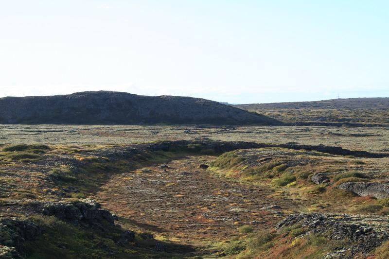 Búrfellsgjá - hrauntröðin