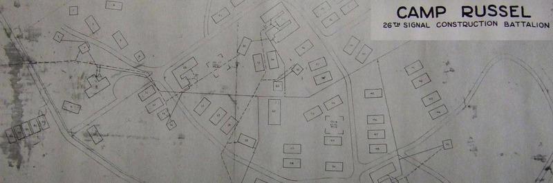 Camp Russel á Urriðakotsholti á stríðsárunum