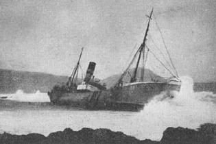 Cap Fagnet á strandsstað