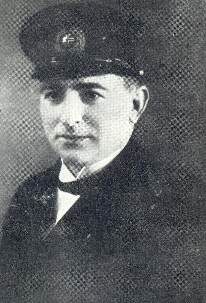 Dagbjartur Einarsson, skipsstjóri á kútter Esther