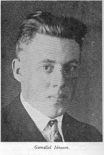 Gamalíel Jónsson á Stað - Manni