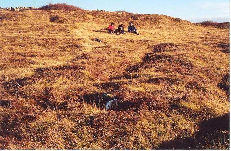 Tóftir við Garðaflatir