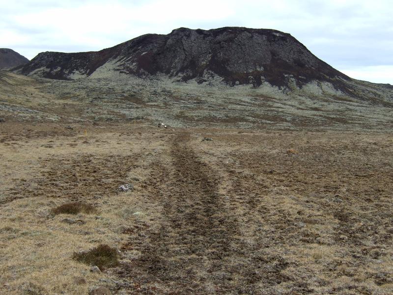 Stóra Eldborg og gamla þjóðleiðin