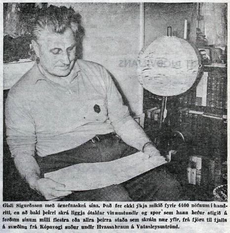 gisli sigurdsson 1965