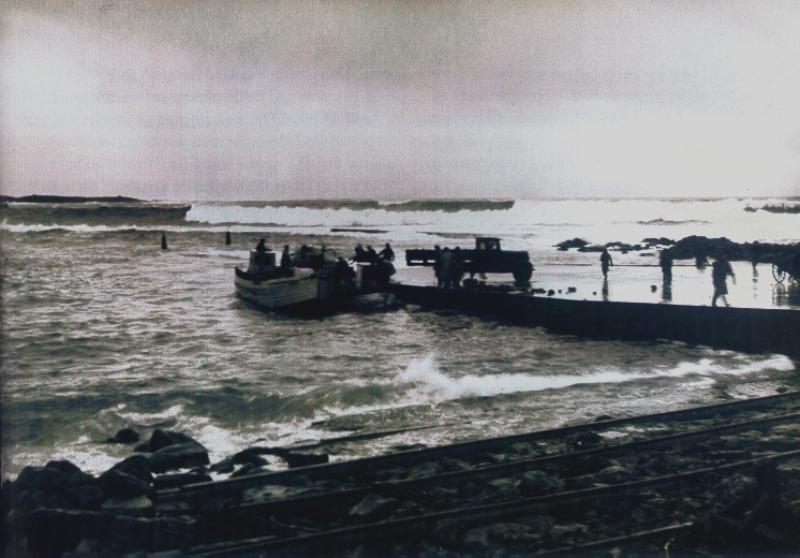 Löndun við Grindavíkurhöfn
