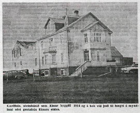 gardhus - byggt 1914