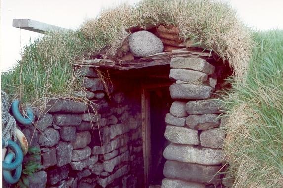 Tóftir við Þorkötlustaði