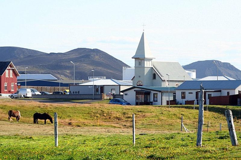 Gamla Grindavíkurkirkjan