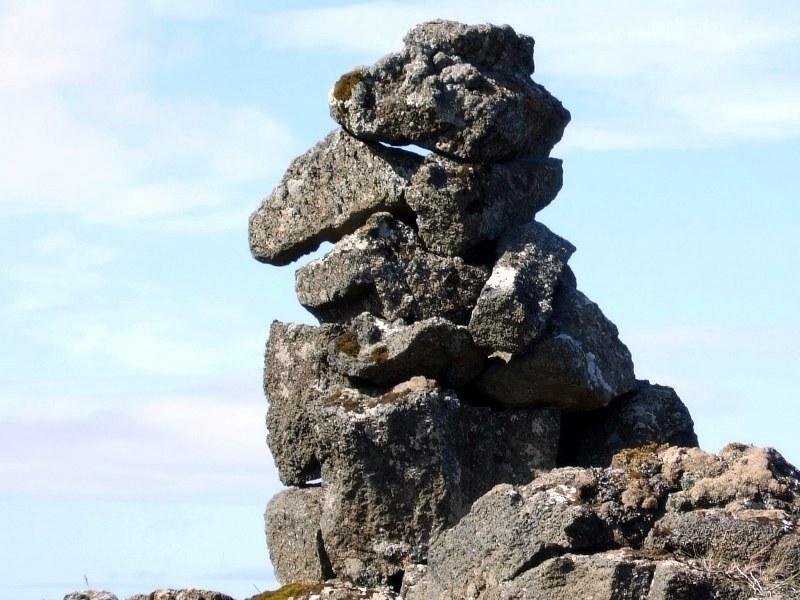 Varða í Hafnaheiði