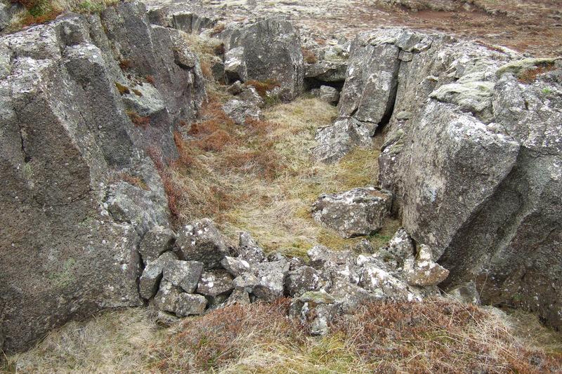 Fyrirhleðsla í Gjáhól