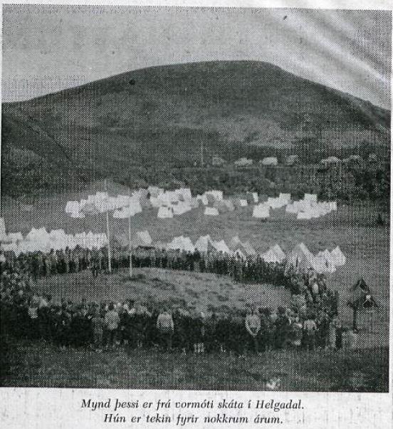 skatar i helgadal 1954