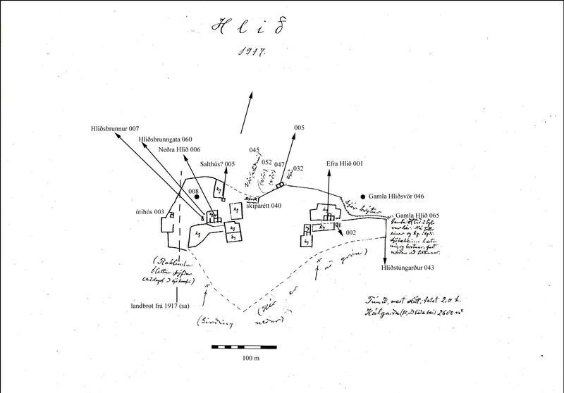 Hlið - túnakot 1917