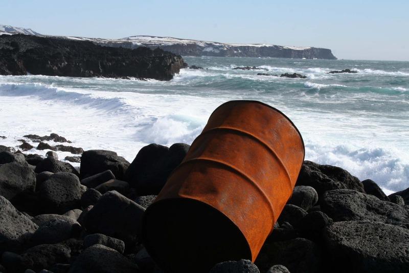 Hólmasund - Krýsuvíkurbjarg fjær