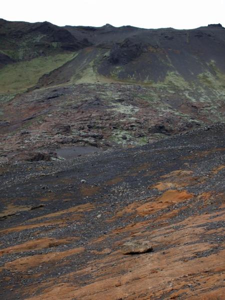 Slysstaðurinn efst í Sveifluhálsi