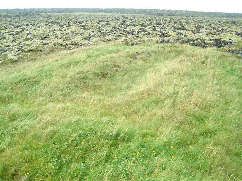 Forn skálatóft við Gömlu-Krýsuvík