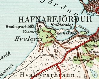 hafnarfjordur 1955