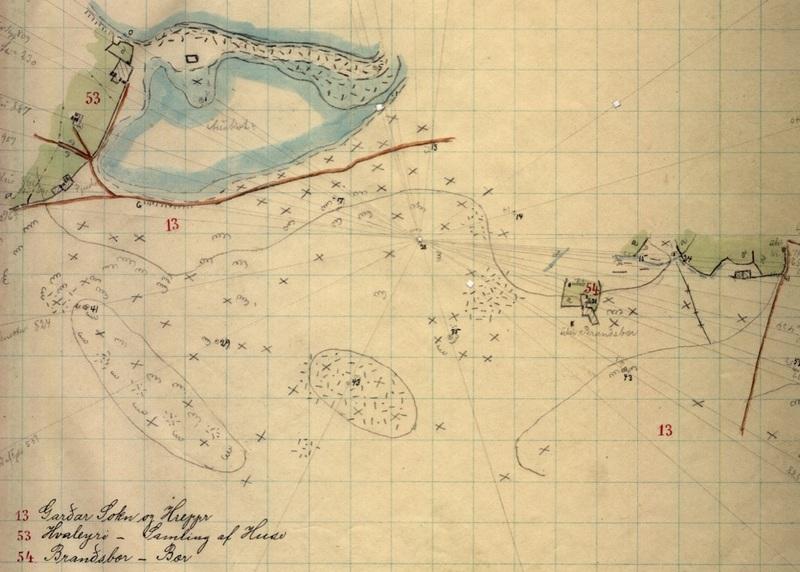 hvaleyri - tunakort 1908 II
