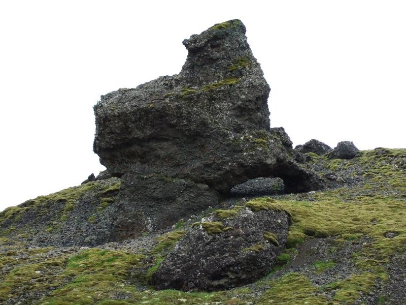 Bergmyndun við Hvalsskarð