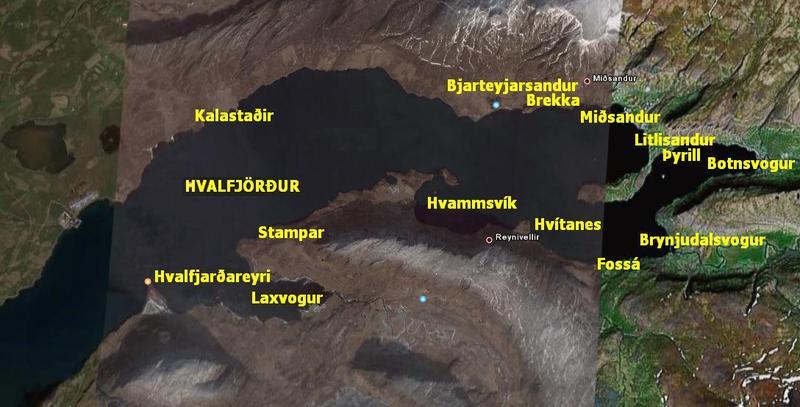 Hvalfjörður - kræklingamið