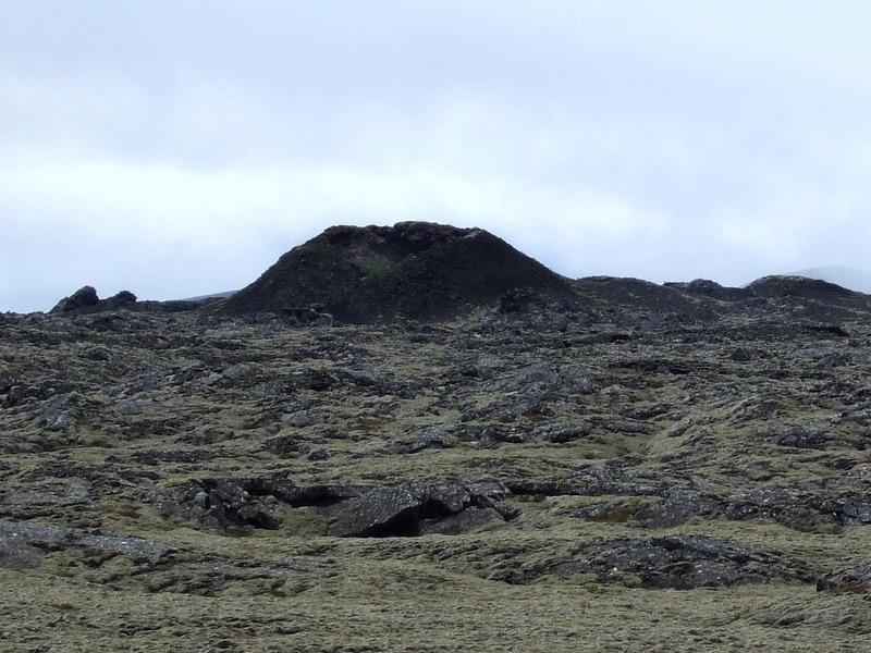 Ummerki eldumbrota eru víða á Reykjanesskaga