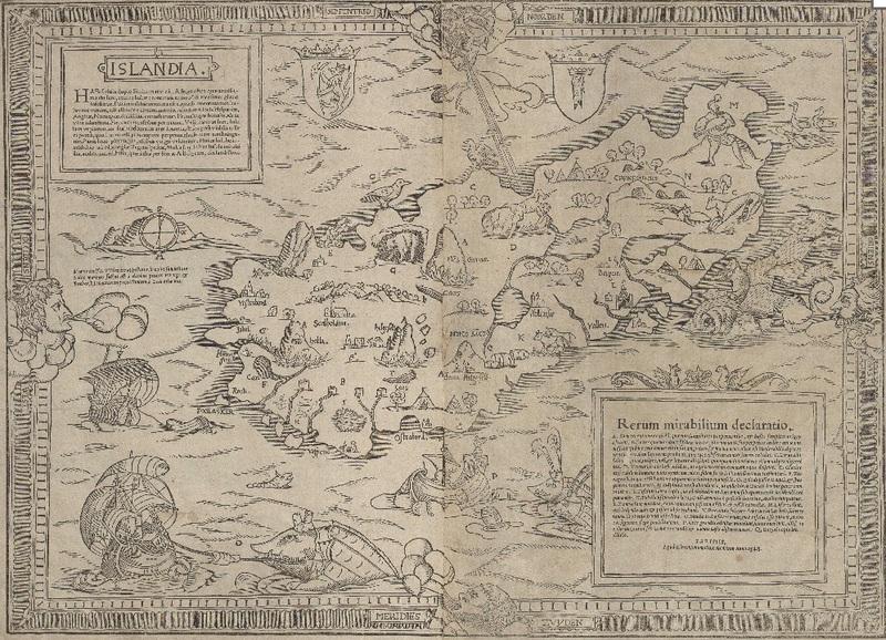 Islandskort 1548