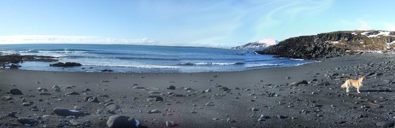 Bótin neðan við Ísólfsskála