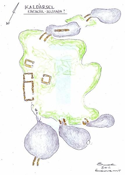 Kaldarsel-uppdrattur-V