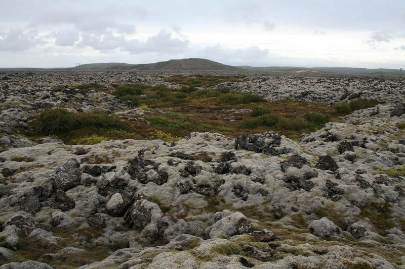Snókalönd í Brunanum - Stórhöfði fjær