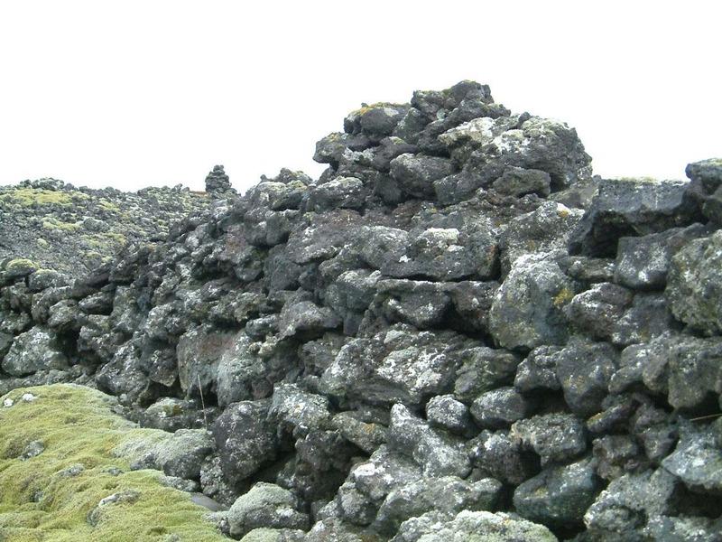 Brunagarðurinn við Kapelluhraun