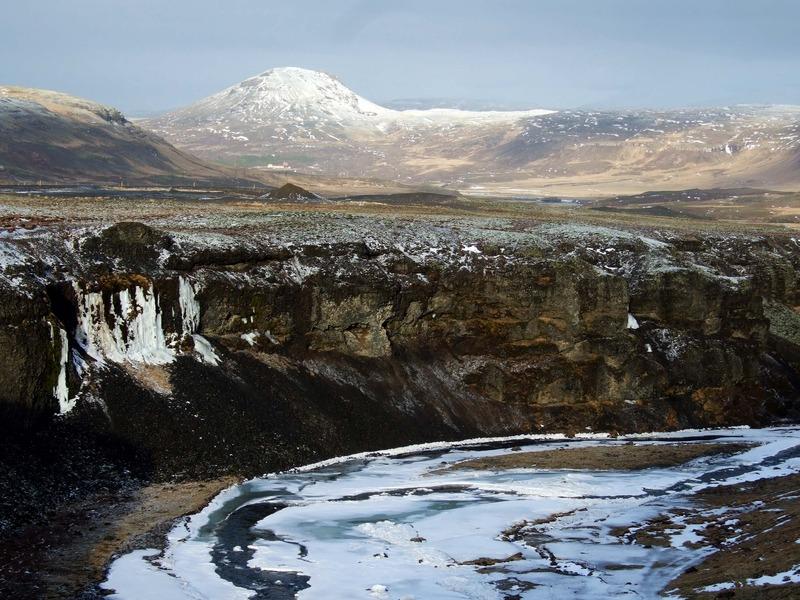 Útsýni að Sandfelli