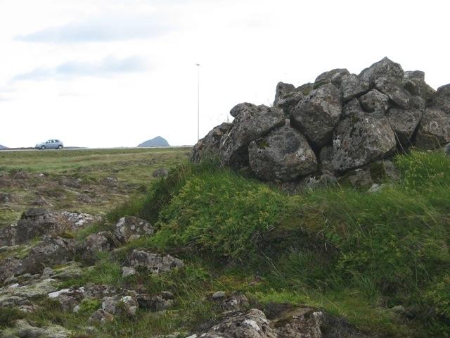 """Fótur """"Kolbeinsvörðu"""" á Njarðvíkurheiði"""