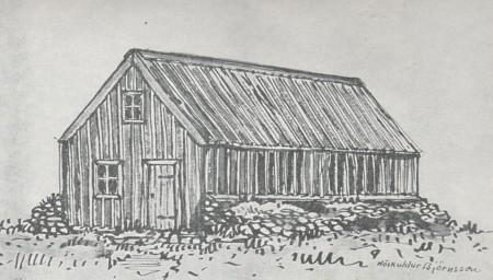 Sælihúsið á Kolviðarhóli - reist 1844