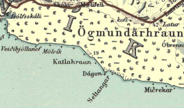 Sögukort við Járngerðarstaði