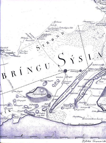 Kort Björns frá 1831