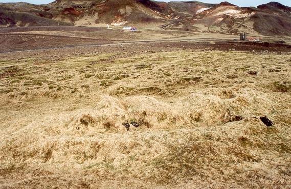 Tóft í Krýsuvík