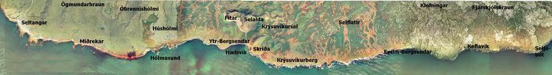 Krýsuvíkurstrandlengjan í suðri
