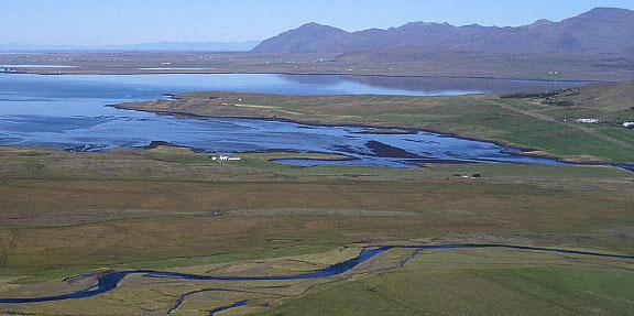 Laxárvogur, Hálsnes og Hvalfjörður