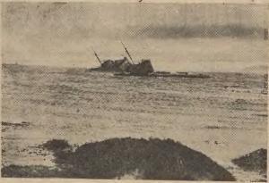 Laxfoss á strandsstað