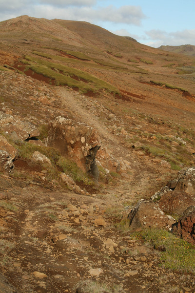 Méltunnuklif - Höfði fjær