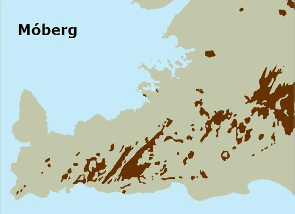 Moberg - kort II